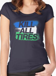 Kill All Tires (1) Women's Fitted Scoop T-Shirt