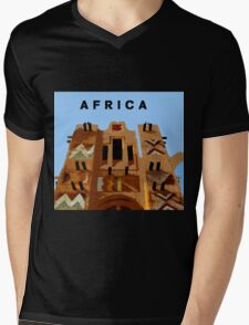 Africa colorful architecture Mens V-Neck T-Shirt
