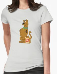 Scooby Snacks! Womens Fitted T-Shirt