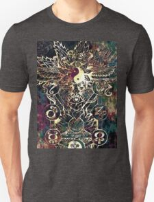 Yin Yang Abstract Design Unisex T-Shirt