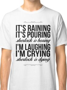Sing-A-Long With Moriarty Classic T-Shirt