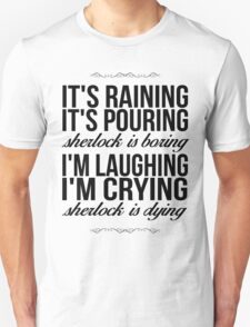 Sing-A-Long With Moriarty T-Shirt