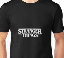 Stranger Things - White Unisex T-Shirt