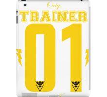 Team Instinct Trainer iPad Case/Skin
