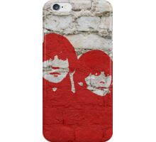 The Beatles Graffiti on Brick Wall iPhone Case/Skin