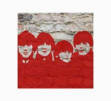 The Beatles Graffiti on Brick Wall Unisex T-Shirt