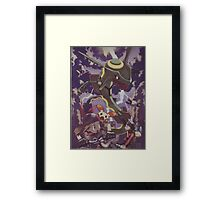 pokemon rayquaza Framed Print