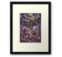 pokemon rayquaza Framed Print
