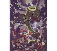 pokemon rayquaza Photographic Print