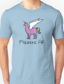 Majestic AF Pink Llamacorn Unisex T-Shirt