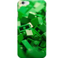 Green Lego Blocks Poster/Pillow/Stickers iPhone Case/Skin
