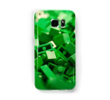 Green Lego Blocks Poster/Pillow/Stickers Samsung Galaxy Case/Skin