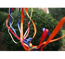 Ribbons #2 Photographic Print