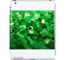 Green Lego Blocks Poster/Pillow/Stickers iPad Case/Skin