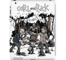 Carl and Rick iPad Case/Skin