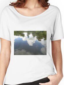 Cloud Reflection Women's Relaxed Fit T-Shirt