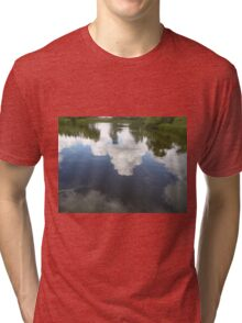 Cloud Reflection Tri-blend T-Shirt