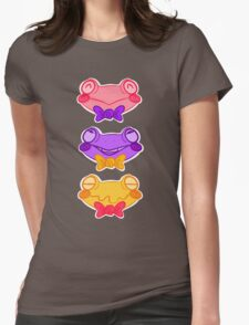 CandyFrogs Womens Fitted T-Shirt