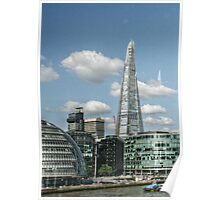 The Shard and City Hall from the Tower Bridge Poster