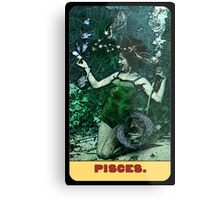 Pisces - from The Midway Arcana Metal Print