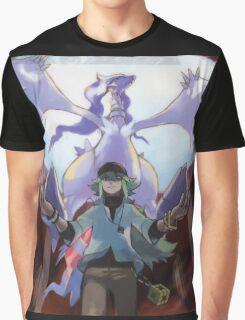 pokemon reshiram and n Graphic T-Shirt