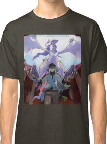 pokemon reshiram and n Classic T-Shirt