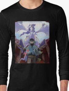 pokemon reshiram and n Long Sleeve T-Shirt