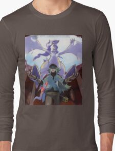 pokemon reshiram and n Long Sleeve T-Shirt