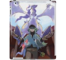 pokemon reshiram and n iPad Case/Skin