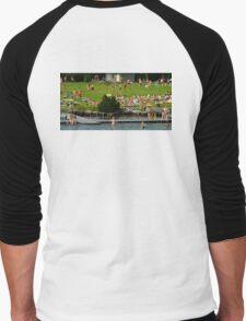 Summer Fun Men's Baseball ¾ T-Shirt