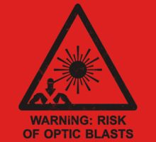 Warning: Risk Of Optic Blasts Kids Clothes
