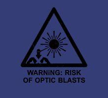 Warning: Risk Of Optic Blasts T-Shirt