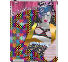 I cried for you on the kitchen floor iPad Case/Skin