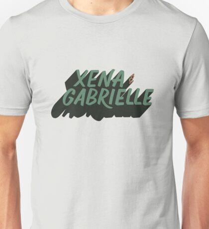 Xena & Gabrielle Unisex T-Shirt