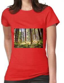 a walk in the woods #2 Womens Fitted T-Shirt