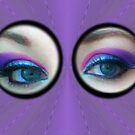 Purple Blue Eyes by DAdeSimone