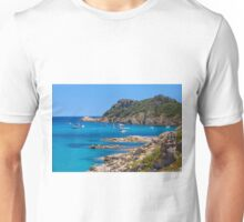 L´Escalet Beach, south of Saint Tropez, Southern France Unisex T-Shirt