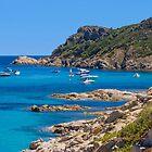 L´Escalet Beach, south of Saint Tropez, Southern France by Bruno Beach