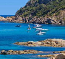L´Escalet Beach, south of Saint Tropez, Southern France Sticker