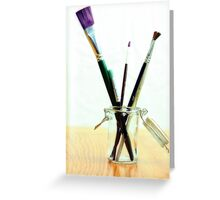 Artistic in Color Greeting Card