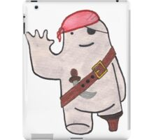 Pirate Beekle, The Unimaginary Friend iPad Case/Skin