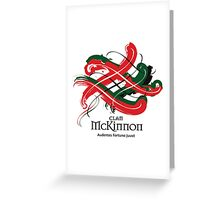 Clan McKinnon Greeting Card