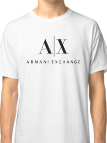 armani exchange- Black Classic T-Shirt