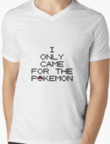 I Only Came... Mens V-Neck T-Shirt