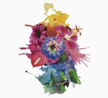 Flower Bomb Baby Tee
