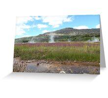 Icelandic Landscape Greeting Card