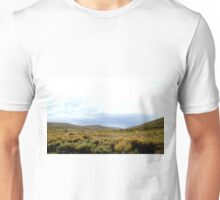 Desolate Field In Bodie Ghost Town Unisex T-Shirt