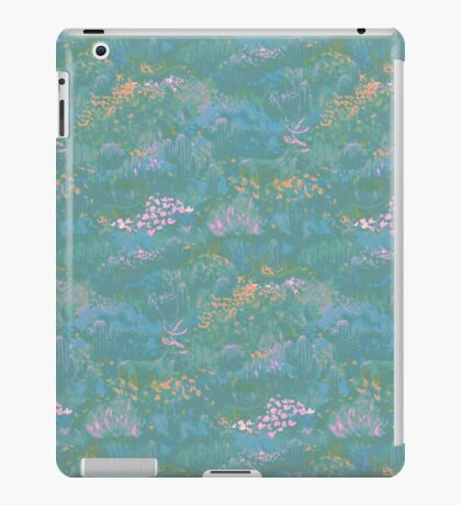 Blue Life in Death Valley iPad Case/Skin
