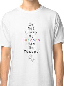 Crazy Unicorn Classic T-Shirt