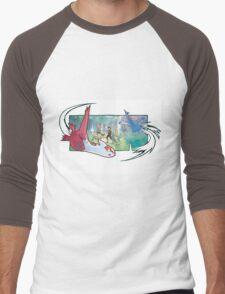 pokemon latios and latias Men's Baseball ¾ T-Shirt